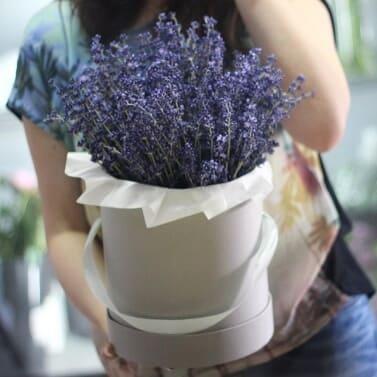 Букет из сухоцветов «ароматерапия»