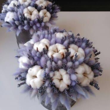 Букет из сухоцветов«Динь-ле-Бэн»